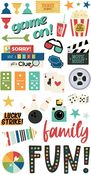 Family Fun 6x12 Chipboard - Simple Stories