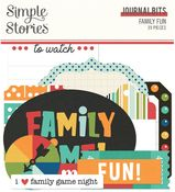 Family Fun Journal Bits - Simple Stories