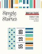 Family Fun Washi Tape - Simple Stories