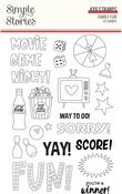 Family Fun Stamps - Simple Stories - PRE ORDER