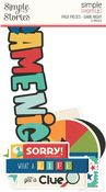 Game Night Page Pieces - Family Fun - Simple Stories - PRE ORDER