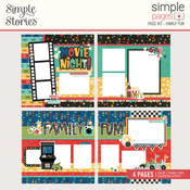 Family Fun Page Kit - Simple Stories - PRE ORDER