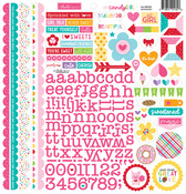 My Candy Girl Doohickey Cardstock Stickers - Bella Blvd
