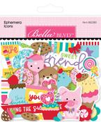 My Candy Girl Ephemera Icons - Bella Blvd