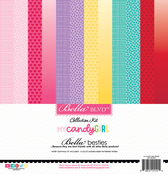 My Candy Girl Bella Besties 12x12 Cardstock Kit - Bella Blvd