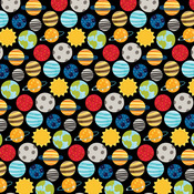 Solar System Paper - To The Moon - Bella Blvd