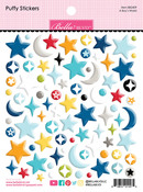 A Boy's World Puffy Stickers - To The Moon - Bella Blvd