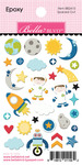 Spaced Out Epoxy Stickers - To The Moon - Bella Blvd - PRE ORDER