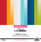 To The Moon Bella Besties 12x12 Cardstock Kit - Bella Blvd