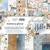 Kawaii Paper Goods Hello 6x6 Paper Pack - Memory-Place
