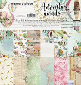 Adventure Awaits 12x12 Collection Pack - Memory-Place