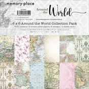 Around The World 6x6 Paper Pack - Memory-Place