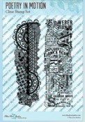 Poetry In Motion Clear Stamps - Blue Fern Studios