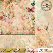 Butterfly In F Minor Paper - The Bird Waltz - Blue Fern Studios