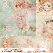 Concerto Paper - The Bird Waltz - Blue Fern Studios
