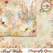 Dragonfly Opus Paper - The Bird Waltz - Blue Fern Studios