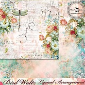 Lyrical Arrangement Paper - The Bird Waltz - Blue Fern Studios