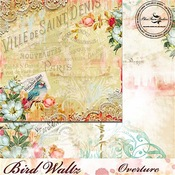 Overture Paper - The Bird Waltz - Blue Fern Studios
