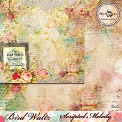 Scripted Melody Paper - The Bird Waltz - Blue Fern Studios