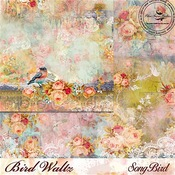 Song Bird Paper - The Bird Waltz - Blue Fern Studios