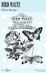 Bird Waltz Clear Stamps - Blue Fern Studios
