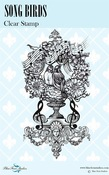 Song Birds Clear Stamps - Blue Fern Studios - PRE ORDER