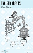 Uncaged Dreams Clear Stamps - Blue Fern Studios - PRE ORDER