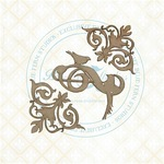Flourished Swirls Chipboard - The Bird Waltz