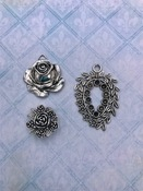 Roses and Posies Charms - Blue Fern Studios - PRE ORDER