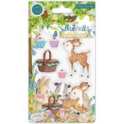 Picnic Clear Stamps - Bluebells & Buttercups - Craft Consortium