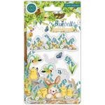 Chicks Clear Stamps - Bluebells & Buttercups - Craft Consortium