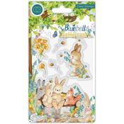 Bench Clear Stamps - Bluebells & Buttercups - Craft Consortium