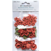 Tomato Paper Flowers - Royal Posies - 49 And Market