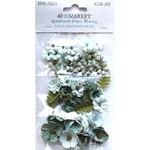 Ocean Jade Paper Flowers - Royal Posies - 49 And Market