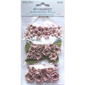 Orchid Paper Flowers - Royal Posies - 49 And Market