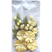 Sunshine Paper Flowers - Royal Spray - 49 And Market