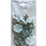 Ocean Jade Paper Flowers - Royal Spray - 49 And Market