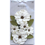 Ivory Paper Flowers - Majestic Bouquet - 49 And Market
