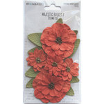Tomato Paper Flowers - Majestic Bouquet - 49 And Market