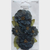Midnight Paper Flowers - Majestic Bouquet - 49 And Market