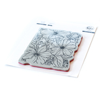 Floral Focus Cling Stamp - Pinkfresh Studio