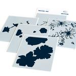 Floral Focus Layering Stencils - Pinkfresh Studio