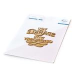 You Sparkle Hot Foil Plate - Pinkfresh Studio