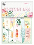 #02 Cardstock Tags - Summer Vibes - P13