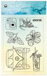 Summer Vibes Photopolymer Stamps - P13