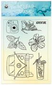 Summer Vibes Photopolymer Stamps - P13 - PRE ORDER
