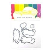 Birthday Kitties Die - Waffle Flower Crafts