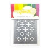 Stitched Flower Panel Die - Waffle Flower Crafts