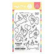 Birthday Puppies Stamp Set - Waffle Flower Crafts