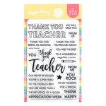 Teacher Stamp Set - Waffle Flower Crafts
